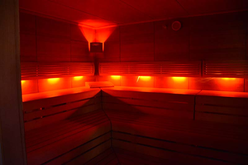 Aquarium-Sauna Karlsruhe | Trockensauna