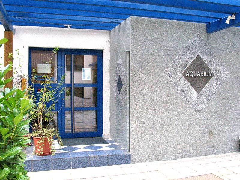 Aquarium-Sauna Karlsruhe | Eingang